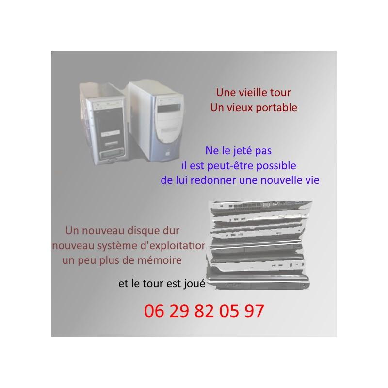 rénover, restaurer ordinateur