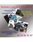Remplacer les pièces défectueuses de votre ordinateur portable