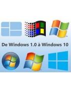Système d'exploitation Windows 10 Pro 64/32 bites, office 2016 et 2019 Pro