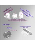 Installation d'une imprimant d'un scanner, de votre nouvelle boxe avec leur logiciel et pilote